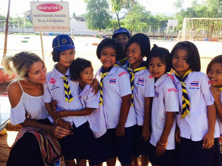 my cute little students in my local school in thailand