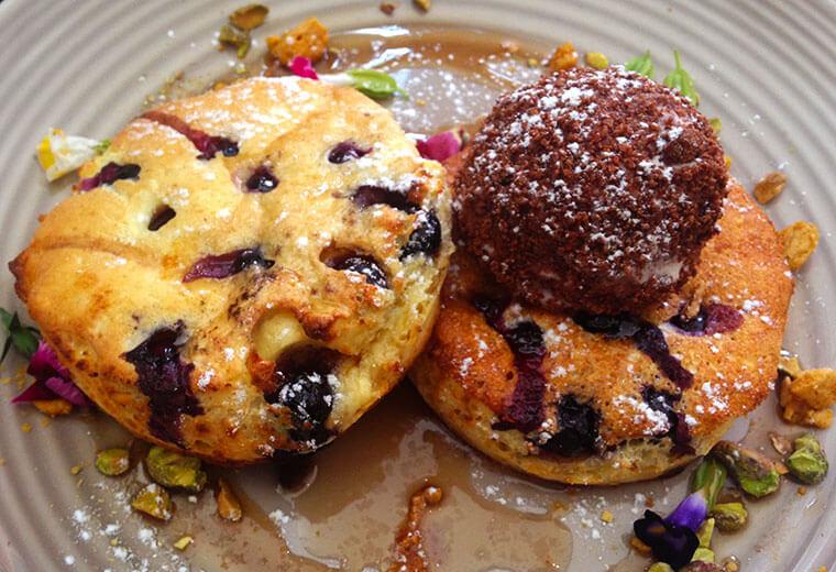 the best Australian pancakes in town in brisbane