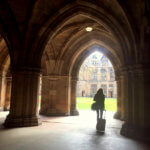 my very own Harry Potter Hogwarts campus at Glasgow university
