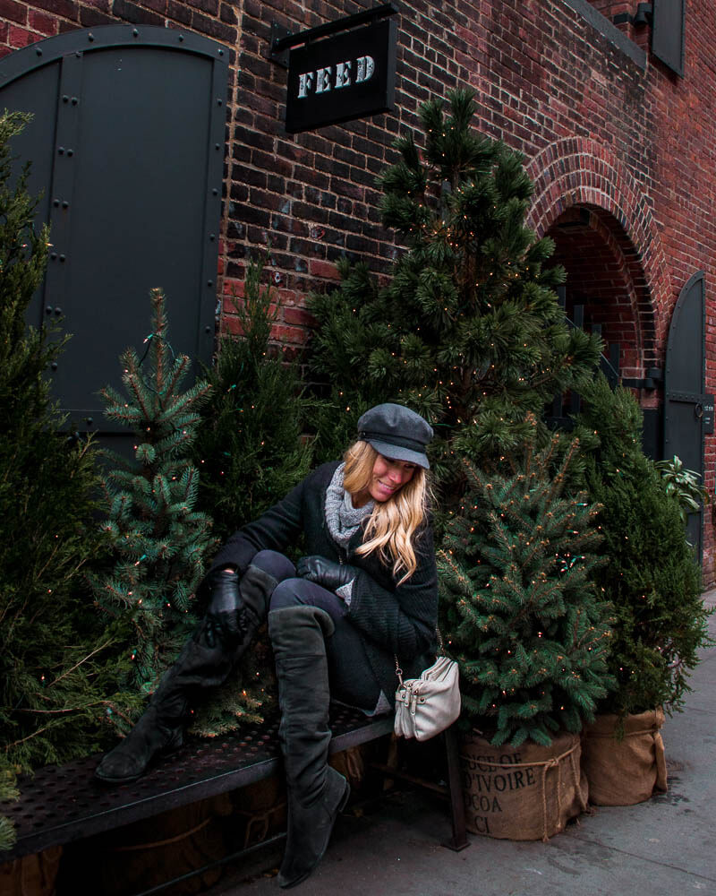 brooklyn in New York city is very magical during Christmas time