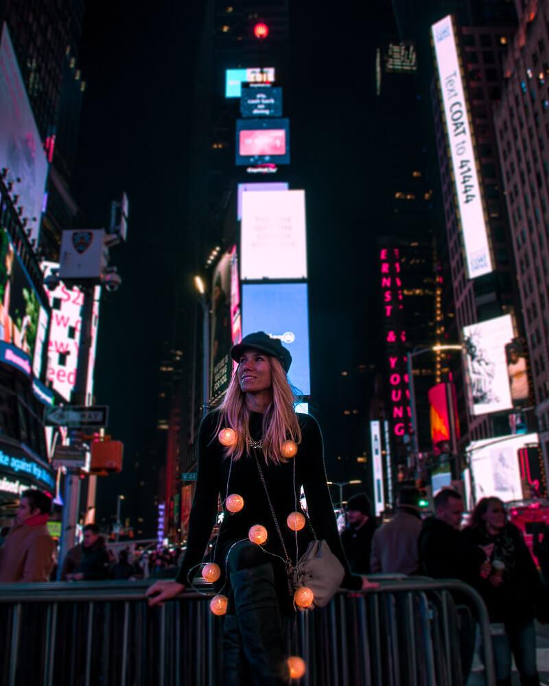 vibrant Times Square impressions