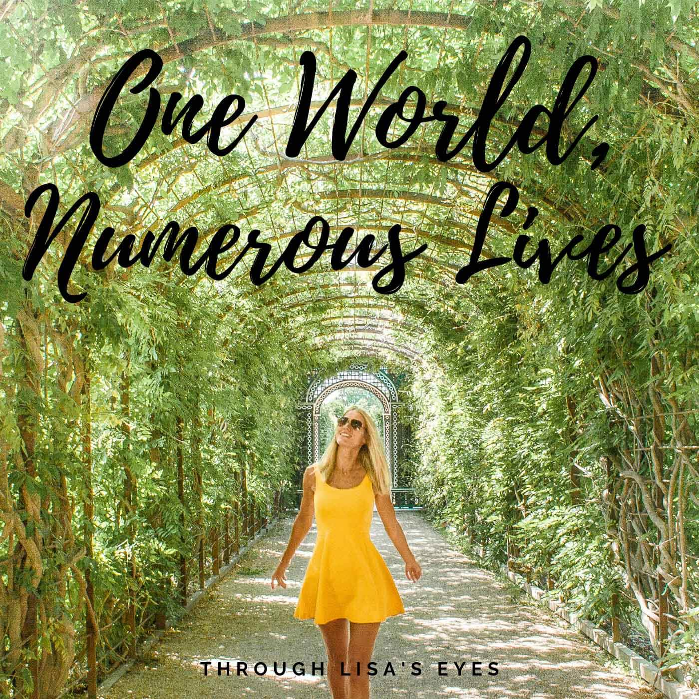 the podcast one world numerous lives aims to give inspirational thoughts by presenting a variety of different life stories while I interview my international network friends