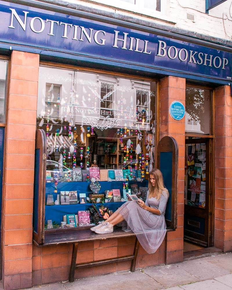 I truly felt like Julia Robert staying in an Airbnb right at the corner from the notting hill bookshop in London