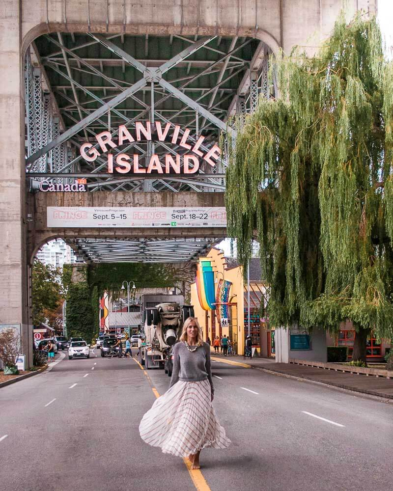 granville market has amazing food and is a must when visiting Vancouver