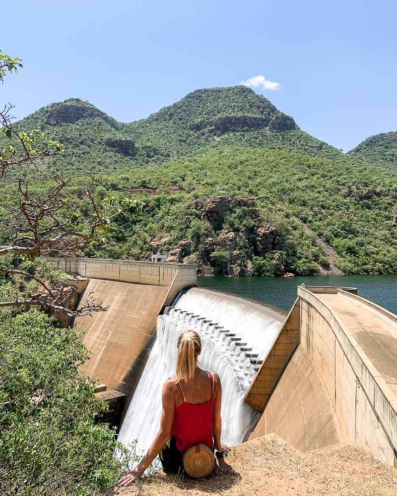 the blyde river canyon dam is a truly great in-between experience during your best safari in south africa trip