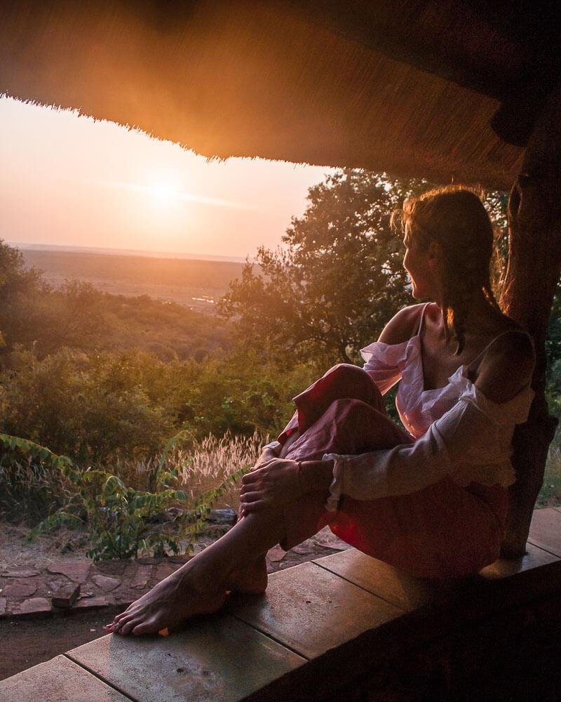 most stunning sunrise at olifants camp in kruger national park